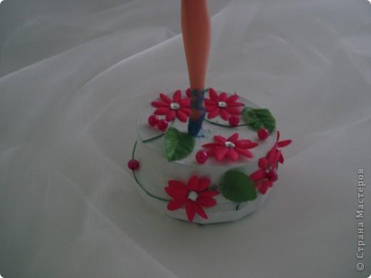 Здравствуйте, дорогие мастерицы!  Захотелось мне сделать держатель для бижутерии. Очень меня вдохновил манекен из Барби. http://stranamasterov.ru/node/353272?c=favorite фото 4