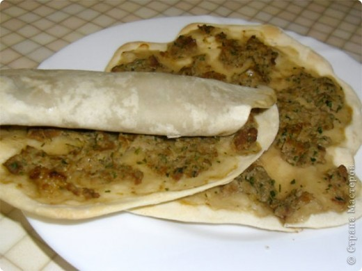 Очень вкусное блюдо армянской кухни