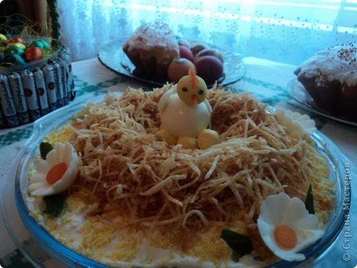 салат в честь Пасхи фото 1