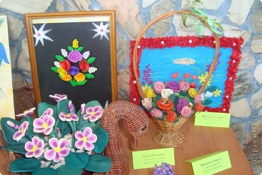 Здравствуйте ВСЕ!!!В нашем детском саду проходила выставка цветов.Хочу показать несколько работ,может,кто-то посмотрит. фото 3