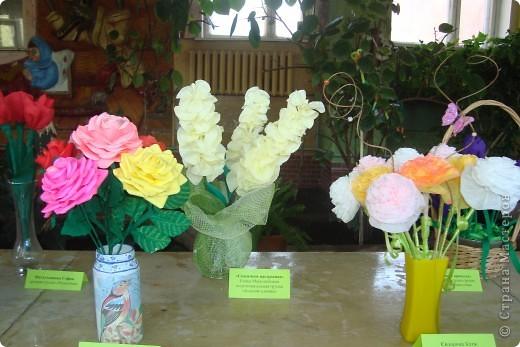 Здравствуйте ВСЕ!!!В нашем детском саду проходила выставка цветов.Хочу показать несколько работ,может,кто-то посмотрит. фото 6