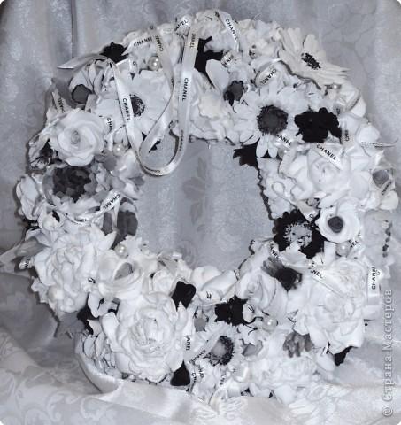 Традиции черно-белого цвета, или в стиле Коко Шанель... фото 9
