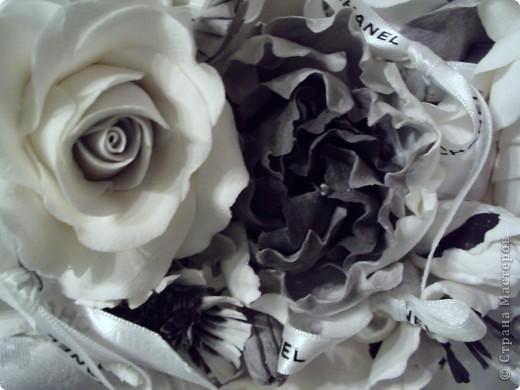 Традиции черно-белого цвета, или в стиле Коко Шанель... фото 4