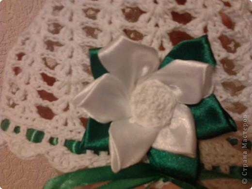 Летние шапочки с цветочками Канзаши фото 4