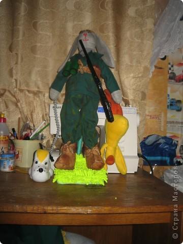 Заяц охотник. фото 1