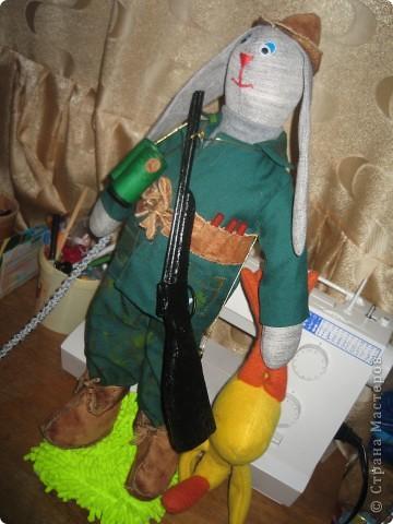 Заяц охотник. фото 6
