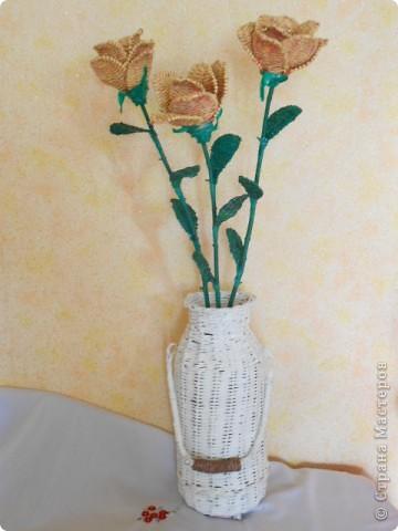 Букет в напольной вазе. фото 3