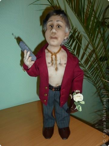 Шьем Текстильная кукла Браток из 90-х - шитье.