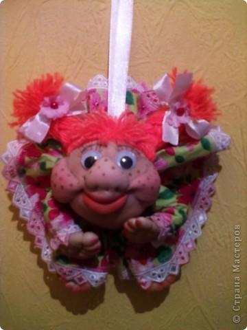 Моя красавица сделана в подарок подруге!И сегодня уже на своем новом ПМЖ в г.Сургуте!Пусть принесет УДАЧУ хорошему человеку! фото 2