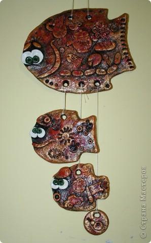 Мамочка, дочка, сыночка и ... зигота))   Красила рыбок раз пять, все не нравился колор. Потом поняла-чем меньше разноцветия, тем, в моем случае, лучше фото 1