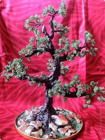 сакура из бисера фото 2