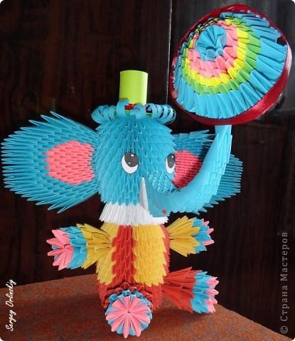модульное Слоник - циркач