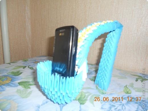туфелька - подставка под телефон.