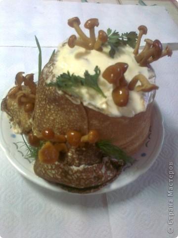 Вот такой салат по МК http://stranamasterov.ru/node/354194?c=favorite сделала дочке на ДР. Очень красиво, а вкуснооооо! фото 2