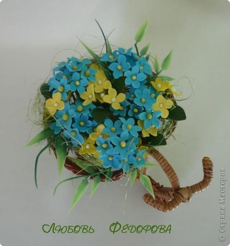 Всем привет!!!! Хочу показать вам велосипед с полевыми цветами. Цветочки неопределенной породы)))  фото 2