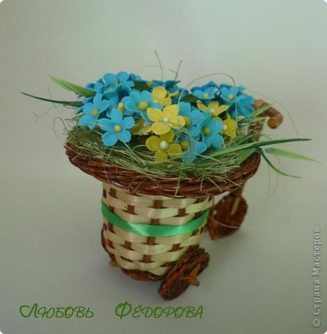 Всем привет!!!! Хочу показать вам велосипед с полевыми цветами. Цветочки неопределенной породы)))  фото 4