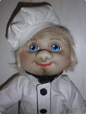 Всім добрий вечір ! Такий поварьонок  проживає у нашому дитячому садочку,запрошує діток на обіди. фото 3
