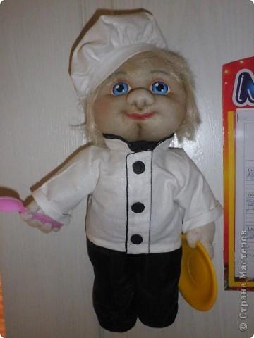 Всім добрий вечір ! Такий поварьонок  проживає у нашому дитячому садочку,запрошує діток на обіди. фото 4