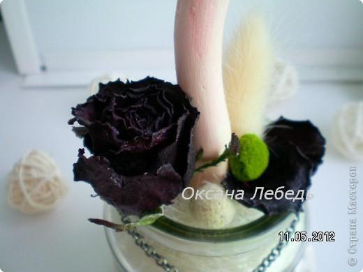 Доброго Всем дня!!!!   Мой долгожданный топиарчик из сухоцветов состоялся,  не выдержала я ждать  обещанные мне белые розы, и сделала без них,  мне нравится, а Вам? фото 9