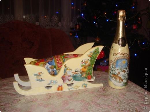 Новогодние работы-подарки близким.  фото 8