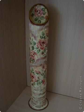 ваза для сухих цветов вид спереди фото 1