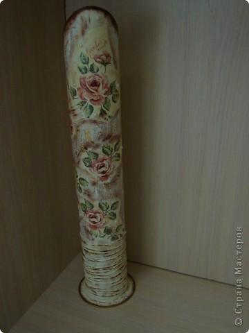 ваза для сухих цветов вид спереди фото 2
