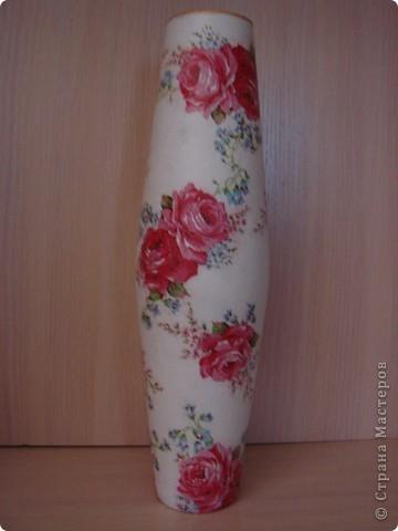 набор ваз делался на подарок для кумы! фото 3