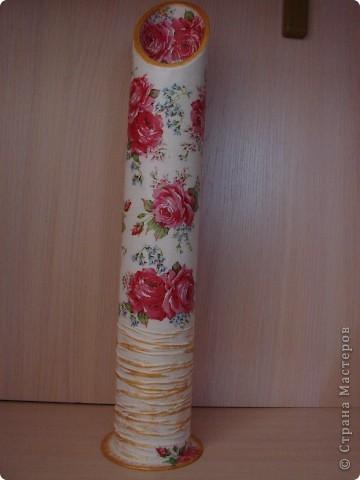 набор ваз делался на подарок для кумы! фото 7