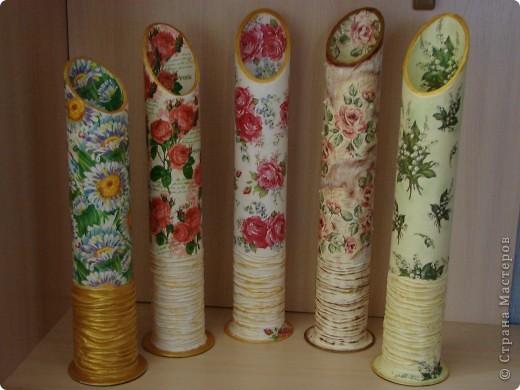 ваза для сухих цветов вид спереди фото 4