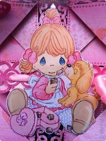 Такие открытки детской серии дочка сделала под моим руководством для проекта по технологии. Мк по изготовлению здесь http://stranamasterov.ru/node/341577 фото 2
