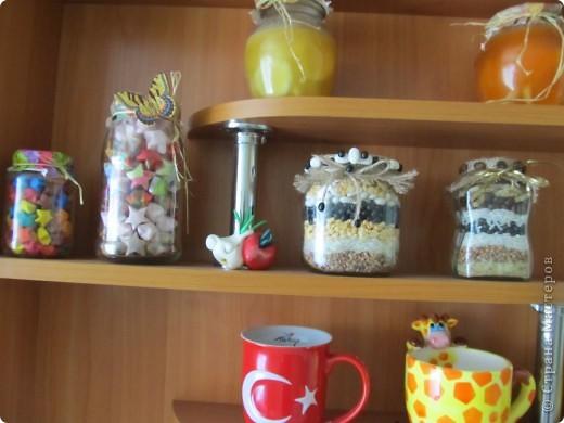 Вот такие баночки сделала себе на кухню. фото 2