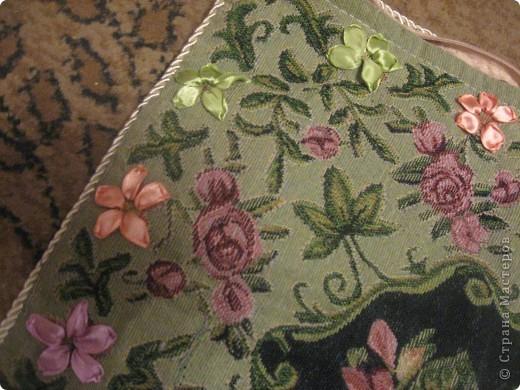 Вышивка по гобелену - наволочка на подушку. Пробовала впервые фото 4