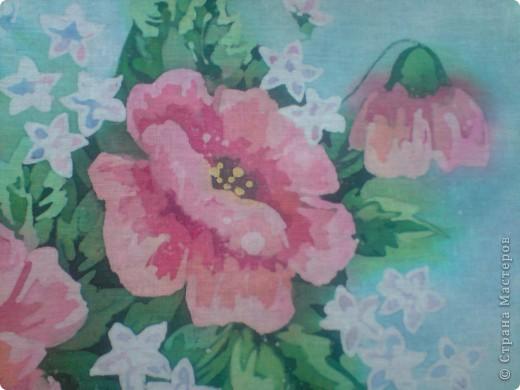 Еще цветы. Горячий батик фото 2