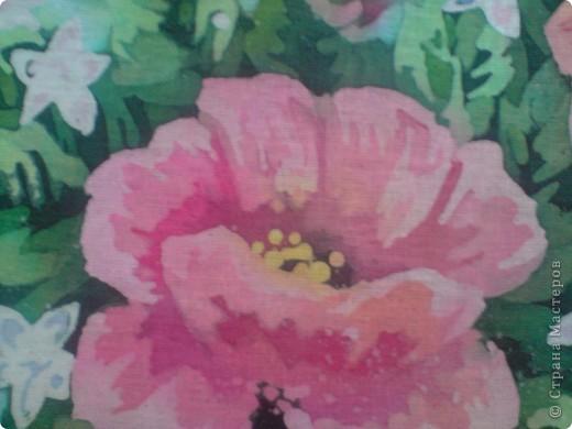 Еще цветы. Горячий батик фото 3