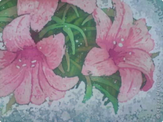 Еще цветы. Горячий батик фото 6