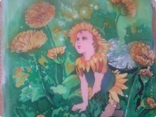 Цветочные феи. Горячий батик фото 4