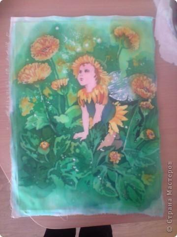 Цветочные феи. Горячий батик фото 3