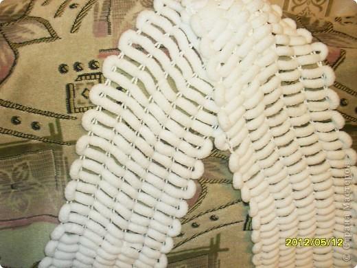 Вот, связала шарфик на досуге. фото 2