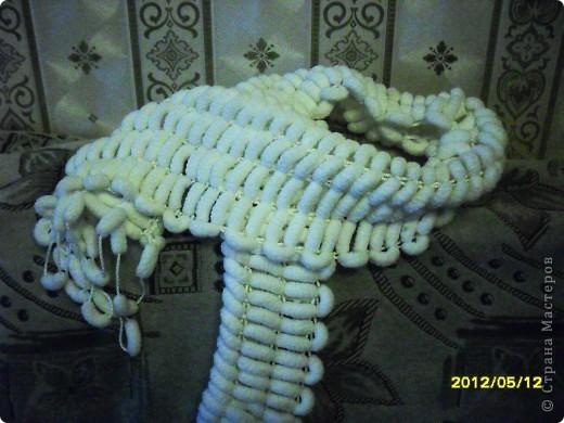 Вот, связала шарфик на досуге. фото 1