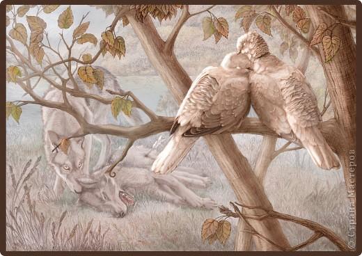 """""""Сотворение"""" 2005 г.  В большем разрешении: http://hontor.ru/photo/1-0-1  Огненный вархал создает мир из своей крови. Иллюстрация к авторской вселенной. фото 5"""