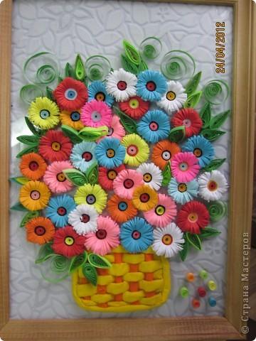 Очень меня вдохновили цветы. Вот я решила создать свою композицию. фото 1