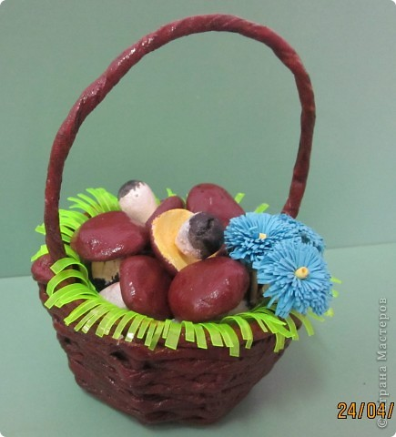 Очень люблю грибы и ягоды, поэтому мне близка корзинка. фото 2