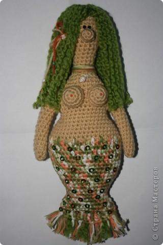 куклы...  мое временное увлечение, которое скоро пройдет и я вернусь к своим кролам :)  я это точьно знаю :) а пока вот, прошy знакомиться: может не совсем кукла, но...  русалка Ая фото 3