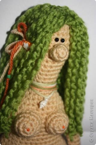 куклы...  мое временное увлечение, которое скоро пройдет и я вернусь к своим кролам :)  я это точьно знаю :) а пока вот, прошy знакомиться: может не совсем кукла, но...  русалка Ая фото 4