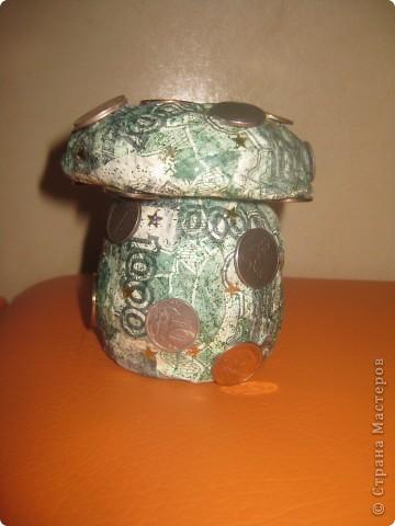 баночка-гриб боровик для заначки :-) фото 1