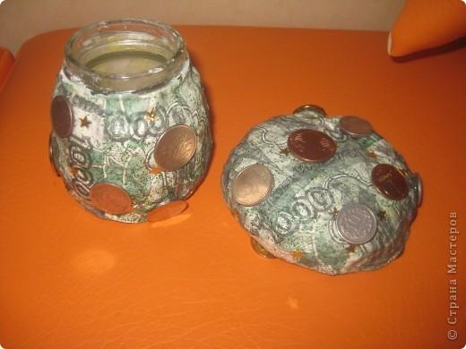 баночка-гриб боровик для заначки :-) фото 2