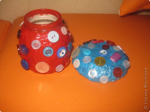 баночка-гриб боровик для заначки :-) фото 4
