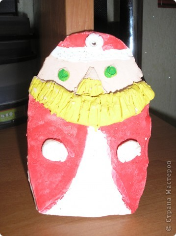 Дед мороз, почти красный нос. фото 1