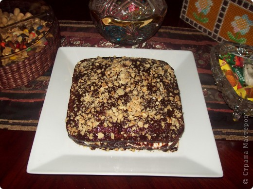 "Торт ""Мулатка-шоколадка"" фото 2"