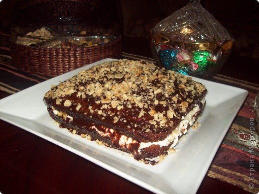 "Торт ""Мулатка-шоколадка"" фото 1"